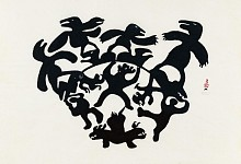 Past Exhibitions Thirty from the Sixties:  The First Decade of Inuit Printmaking Jan  8 - Feb 28, 2015